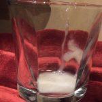 Glass of cum