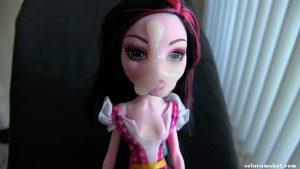 Cum on Monster High doll
