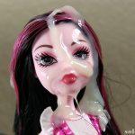 Monster High doll bukkake