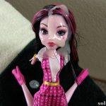 Cumshot on doll