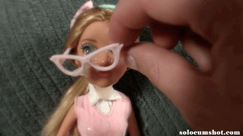 Cum on doll glasses