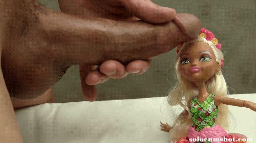 Cum on doll face