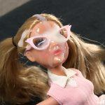 Multiple cumshots on doll