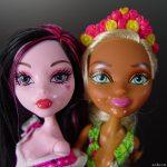 Doll threesome precum