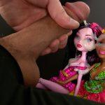 Two doll bukkake