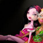 Cum on 2 dolls