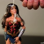 Cum on Wonder Woman doll