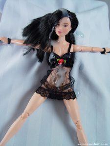 Cum on barbie doll