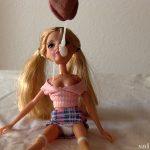Jizz on doll