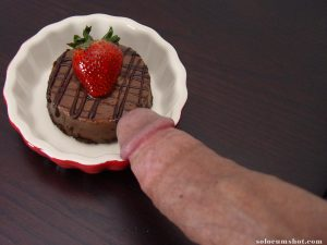 Dessert with dick