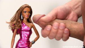 Barbie jack off