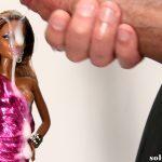 Black barbie doll bukkake