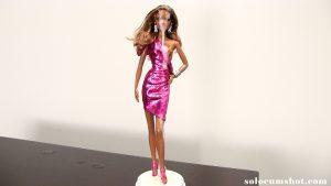 Cum covered black barbie