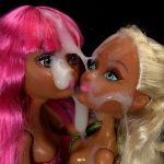 Semen on dolls