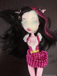 Huge cumshot on doll