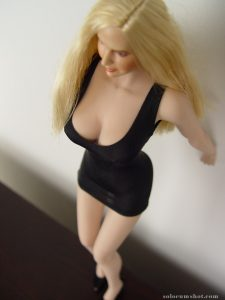 Phicen doll cleavage