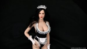 Sexy french maid doll
