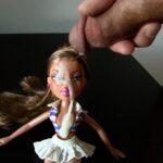3 cumshots on doll