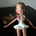 Cumming three times on doll